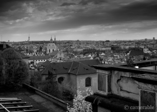 City view of Prague, Czech Republic